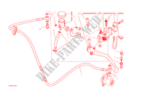 BOMBA DE EMBREAGEM para Ducati Monster 1200 2014