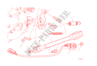 DESCANSO LATERAL para Ducati Monster 1200 2014