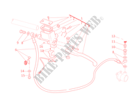 BOMBA DE EMBREAGEM para Ducati Monster 795 2012