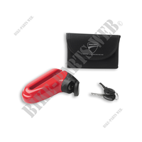 DISC LOCKING PADLOCK KIT - M-Fit-Ducati