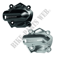 CNC WATER PUMP COVER SET SILVER-Ducati