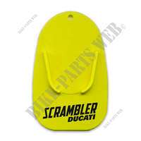 SCR YELLOW STAND BASE PLATE-Ducati
